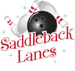 Saddleback Lanes | Kids Birthday Party, Company Party, Bowling Party Logo